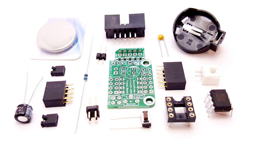 Tinusaur Board Gen4 Parts
