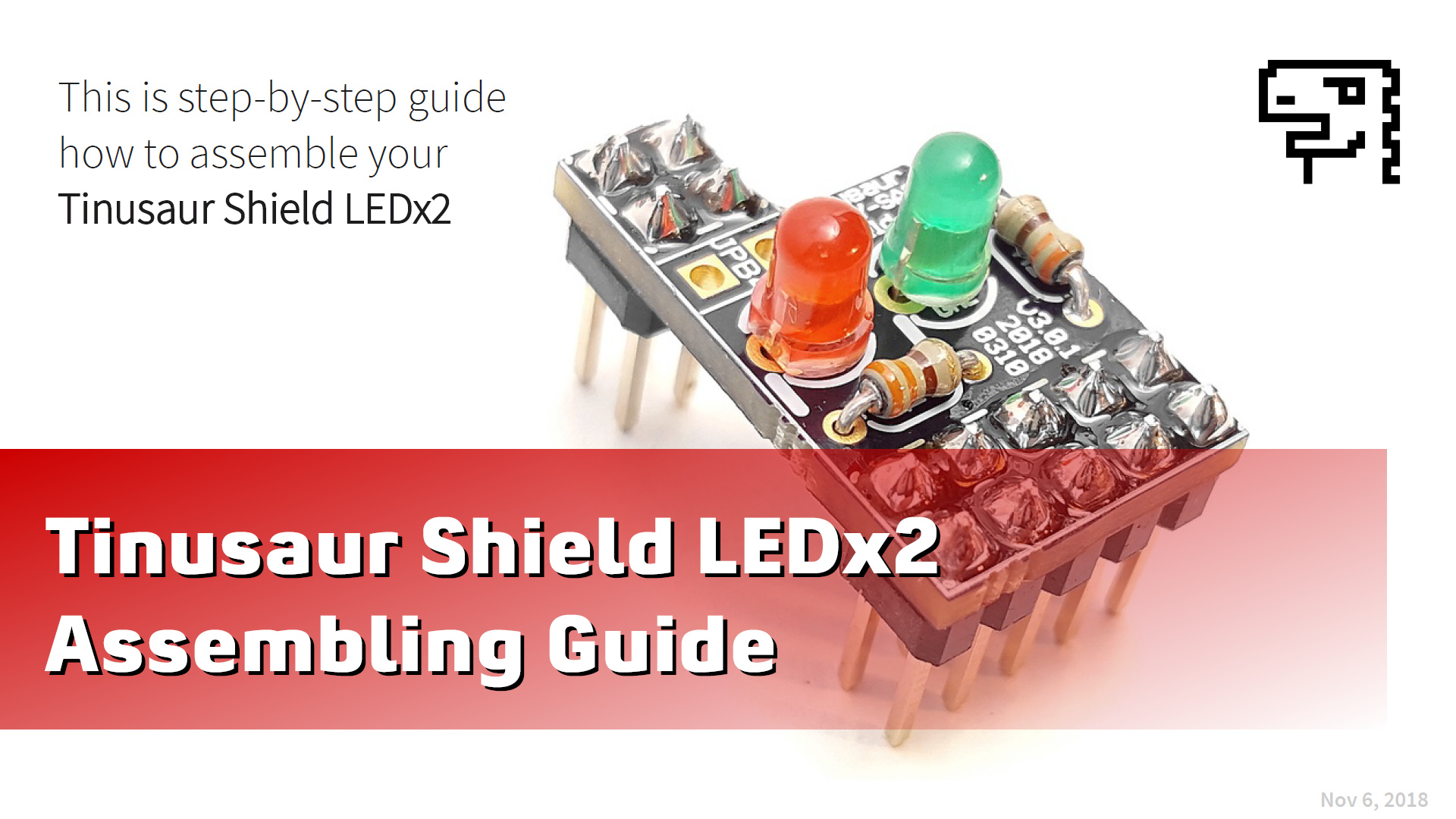Допълнителна платка LEDx2 - Упътване за сглобяване