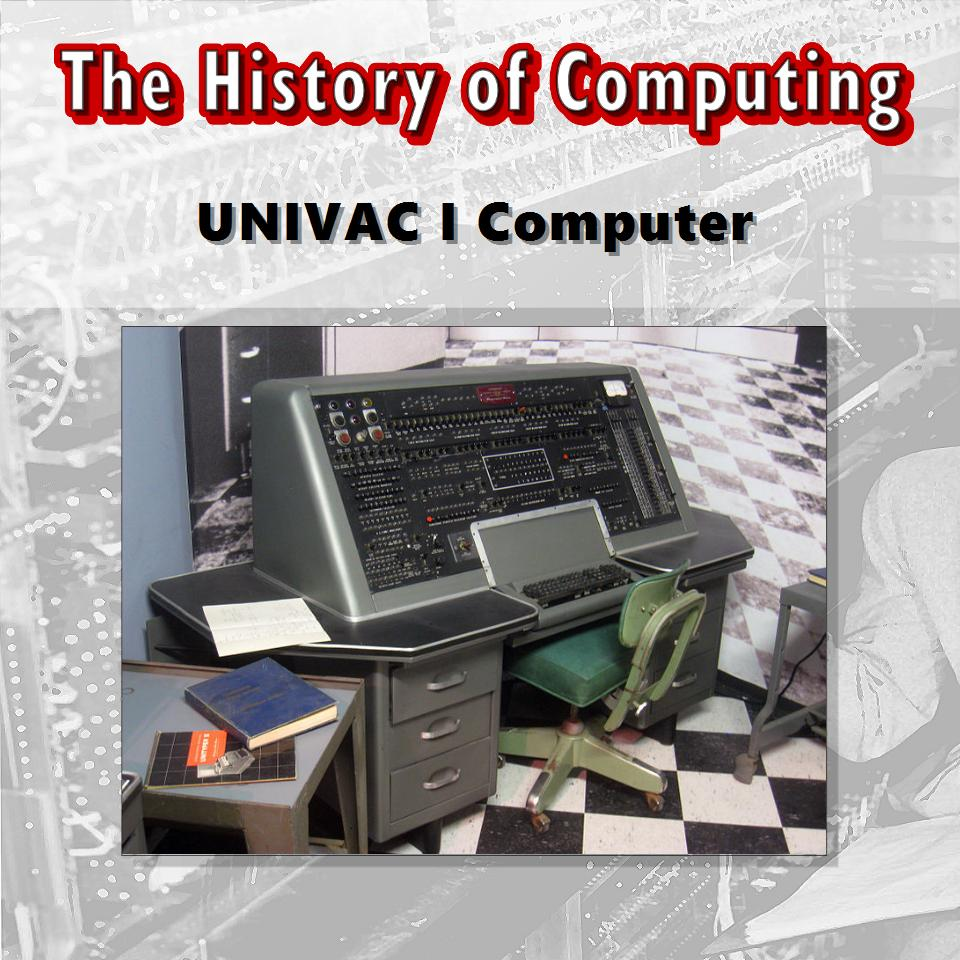 Census Bureau Receives UNIVAC I Computer