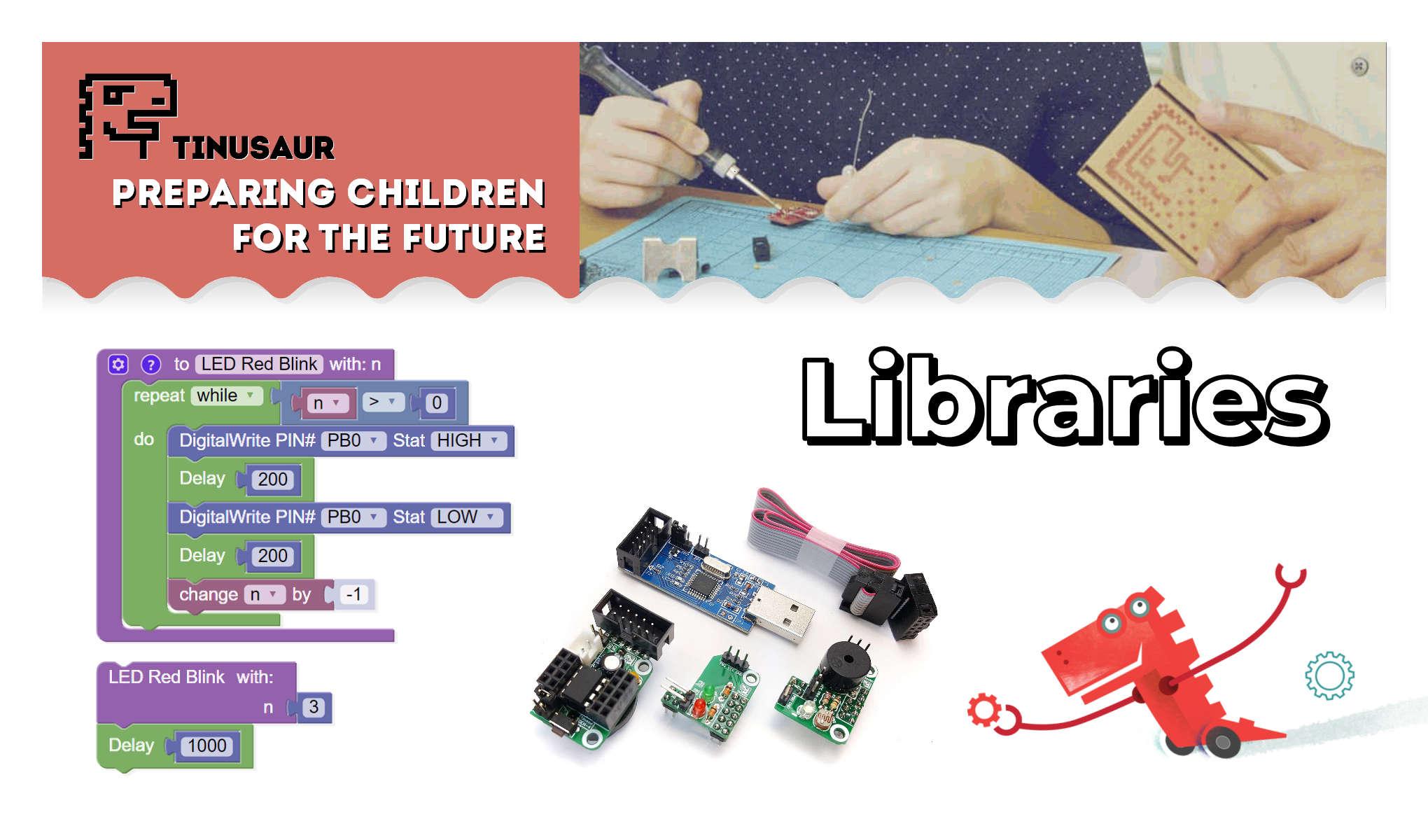 Tinusaur Libraries