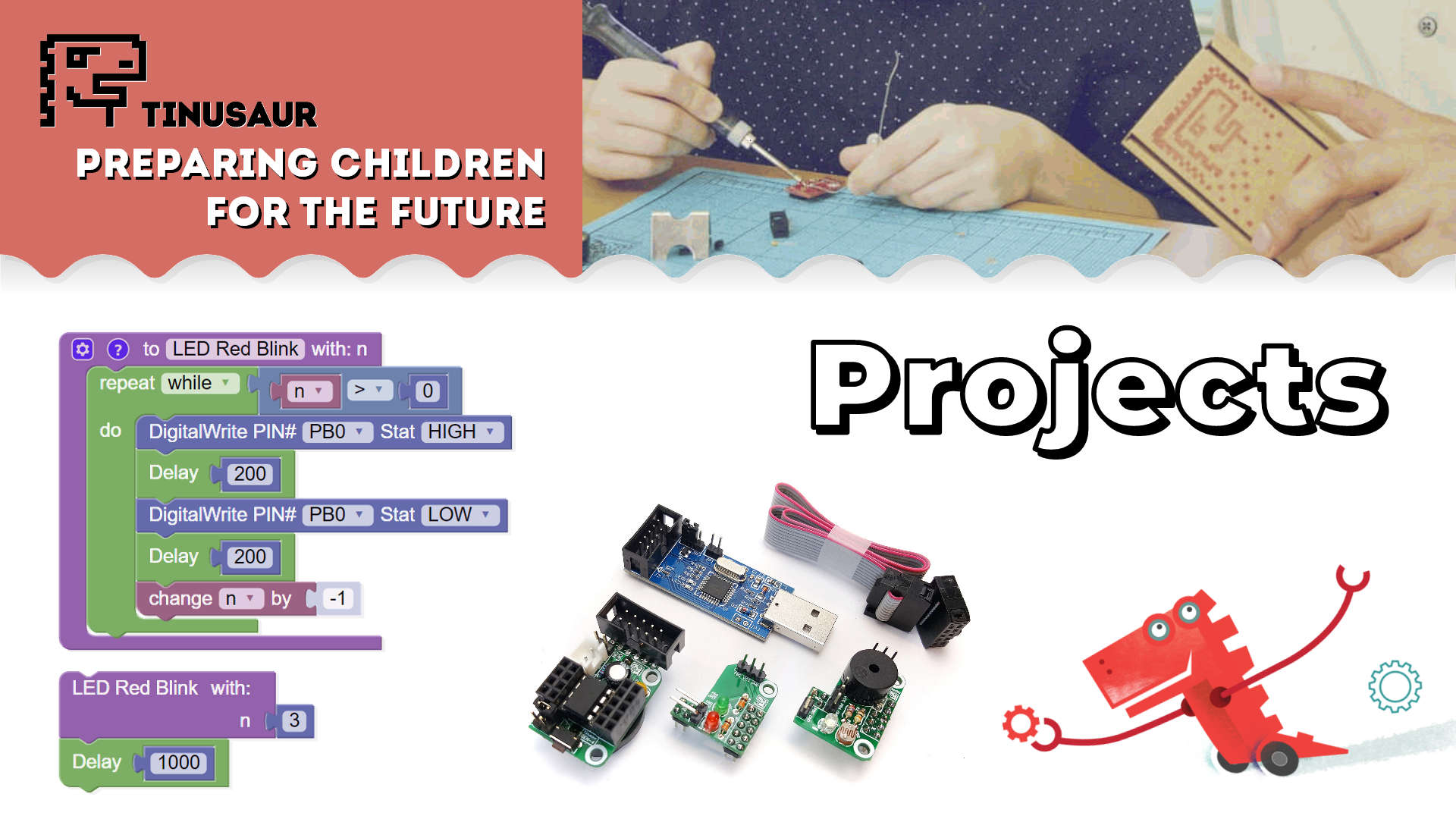 Tinusaur Projects