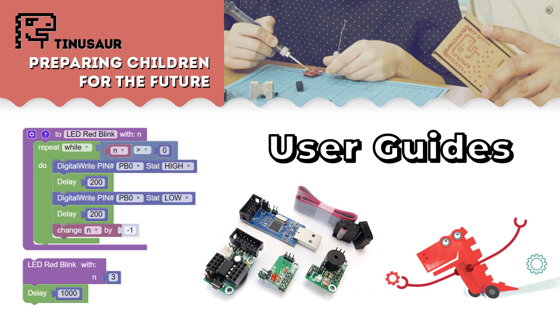 Tinusaur User Guides