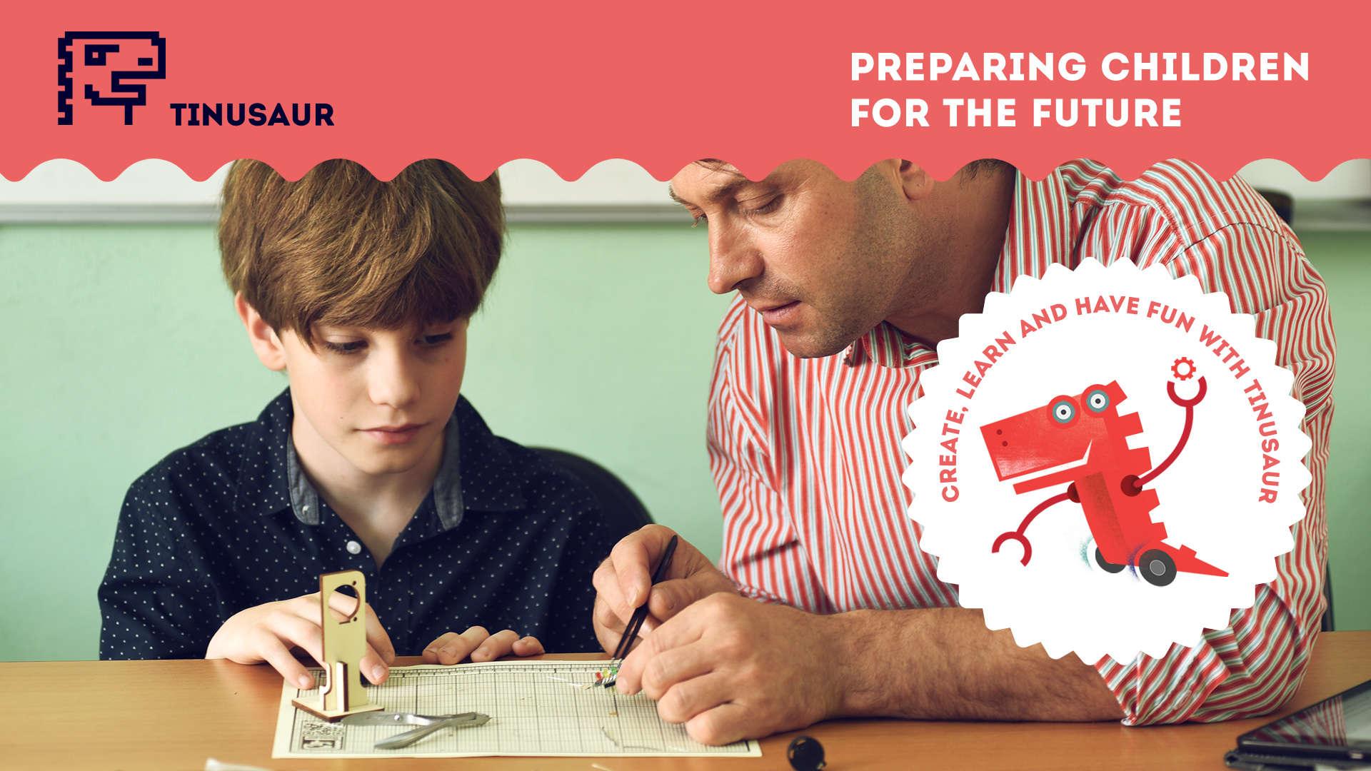 Tinusaur - Preparing children for the future