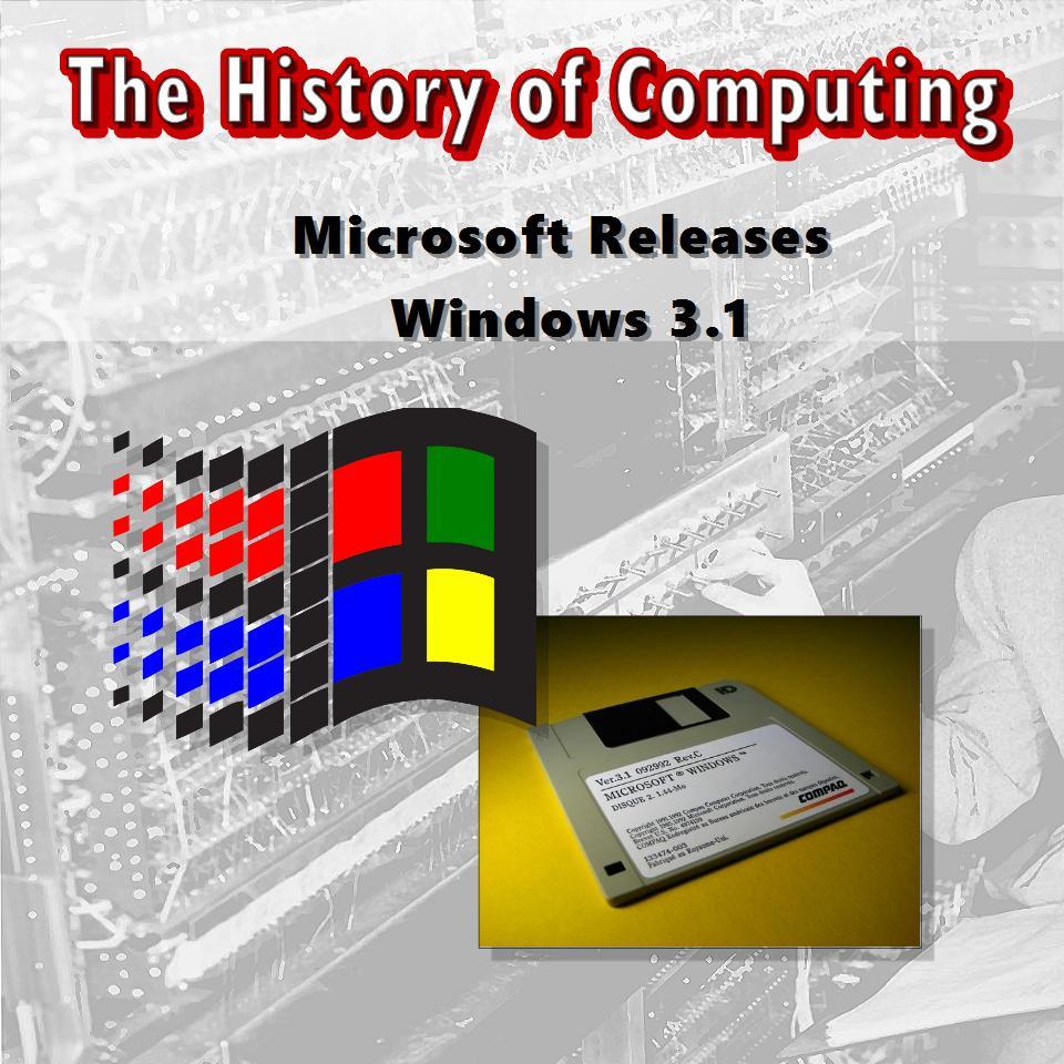 Microsoft Releases Windows 3.1