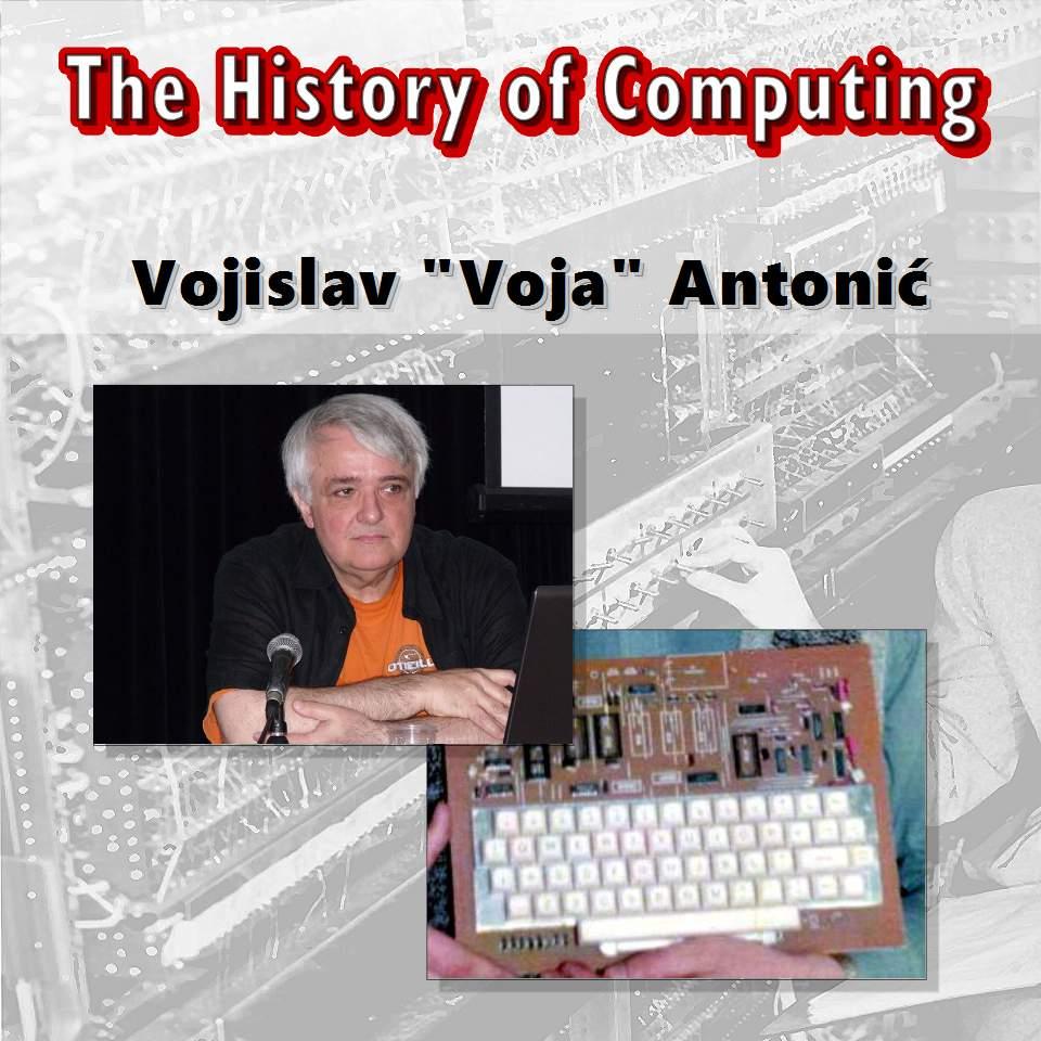 """Vojislav """"Voja"""" Antonić"""