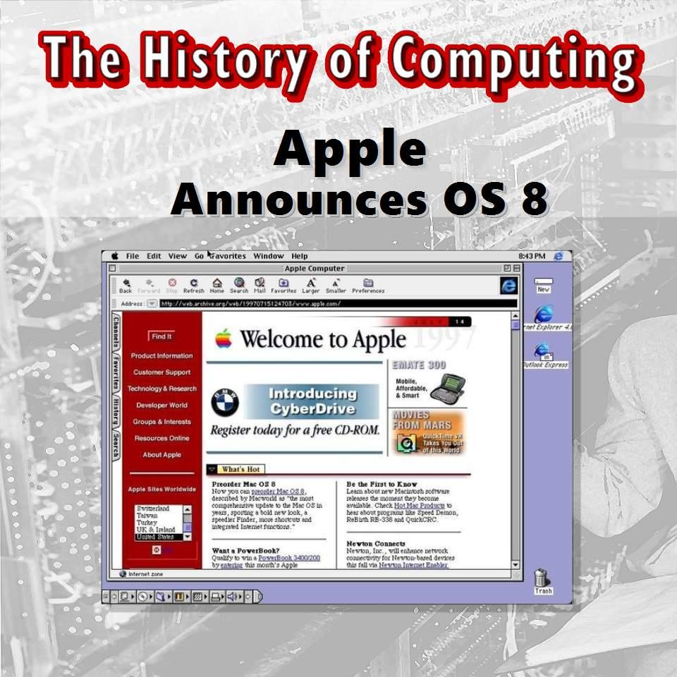 Apple Announces OS 8