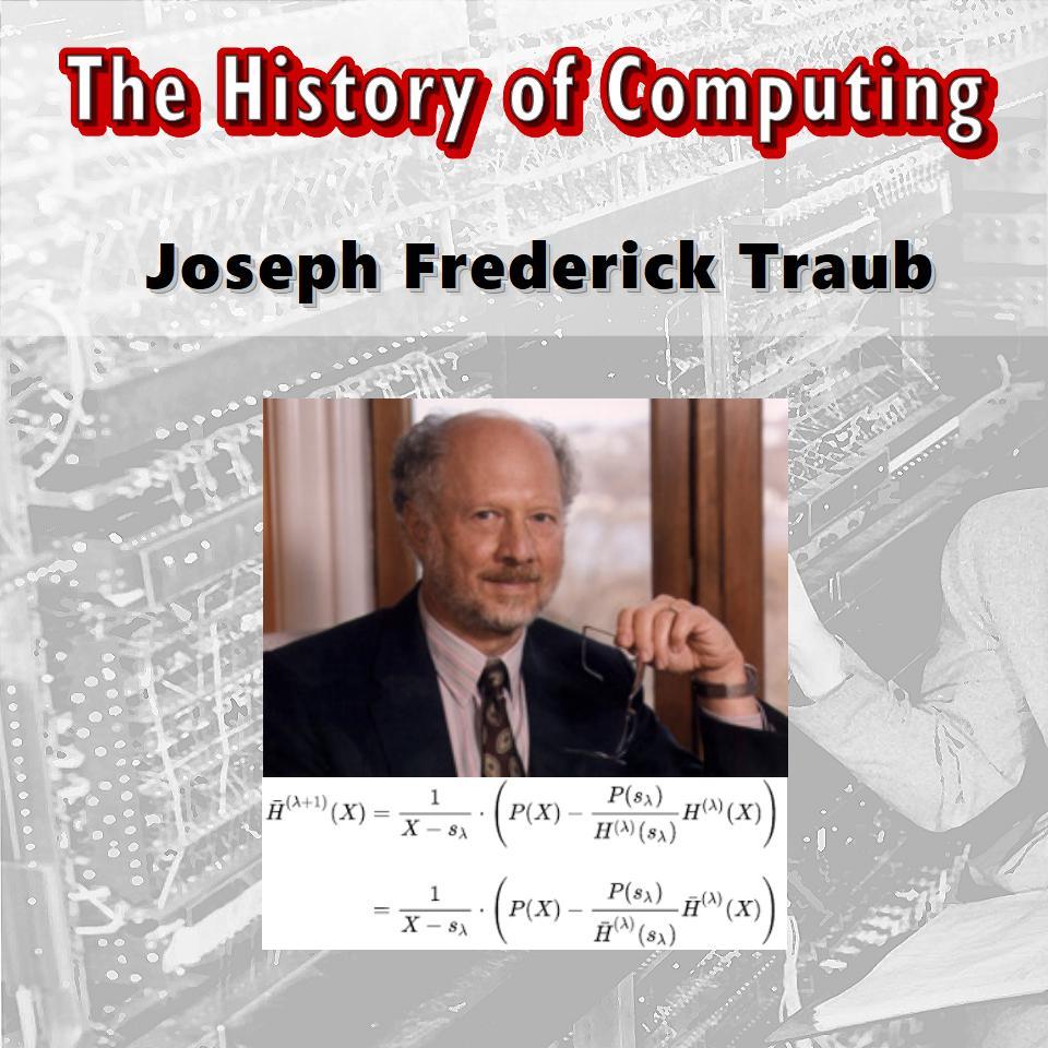 Joseph Frederick Traub