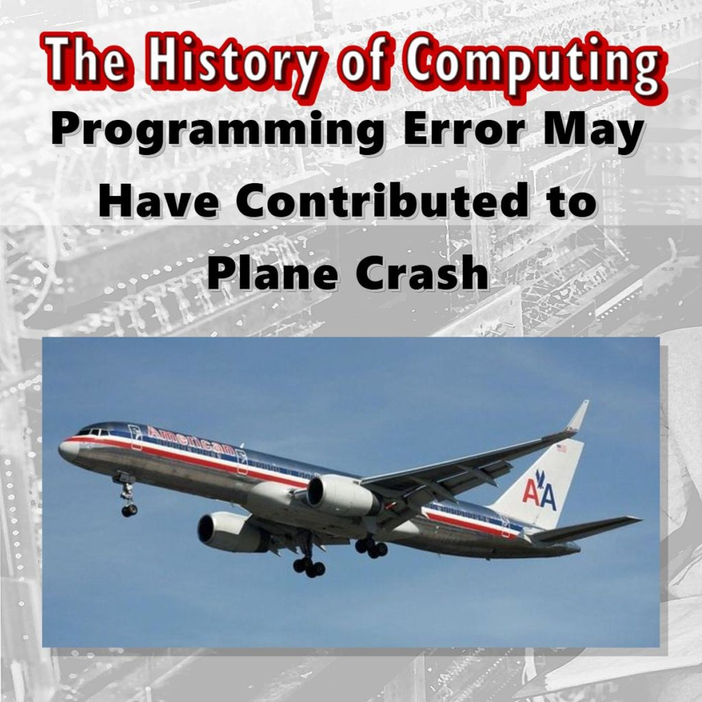 Programming Error May Have Contributed to Plane Crash
