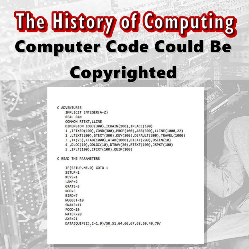 Computer Code Could Be Copyrighted